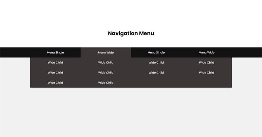 ドロップダウンメニューの練習   CSSでドロップダウンメニューを作ります。