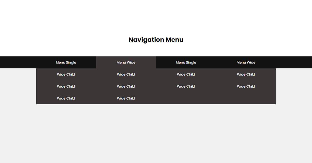 ドロップダウンメニューの練習 | CSSでドロップダウンメニューを作ります。