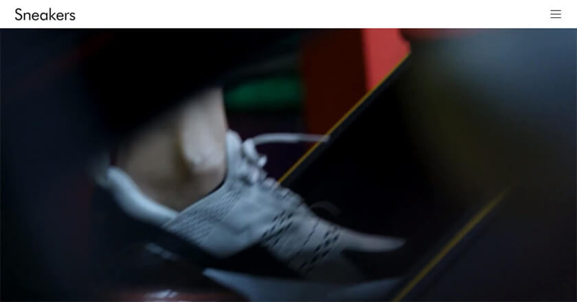 Sneakers   メディアサイト / グリッドレイアウト